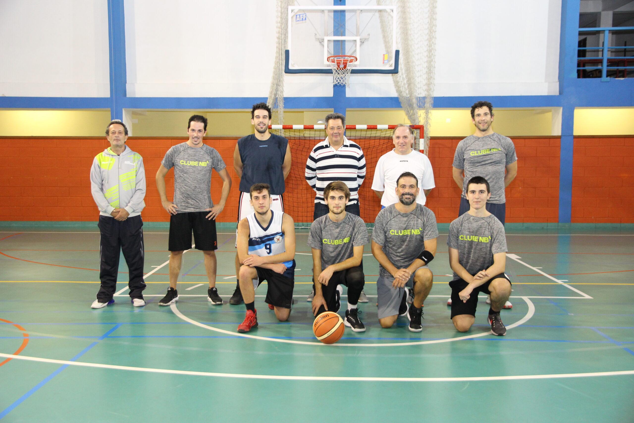 Basquetebol do Clube Novo Banco deu início à pré-temporada.