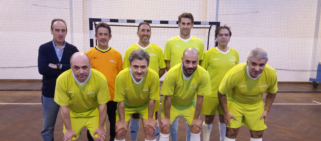 Equipa Futsal-Veteranos do Clube NB