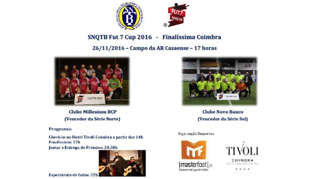 Finalíssima SNQTB Fut7 Cup 2016