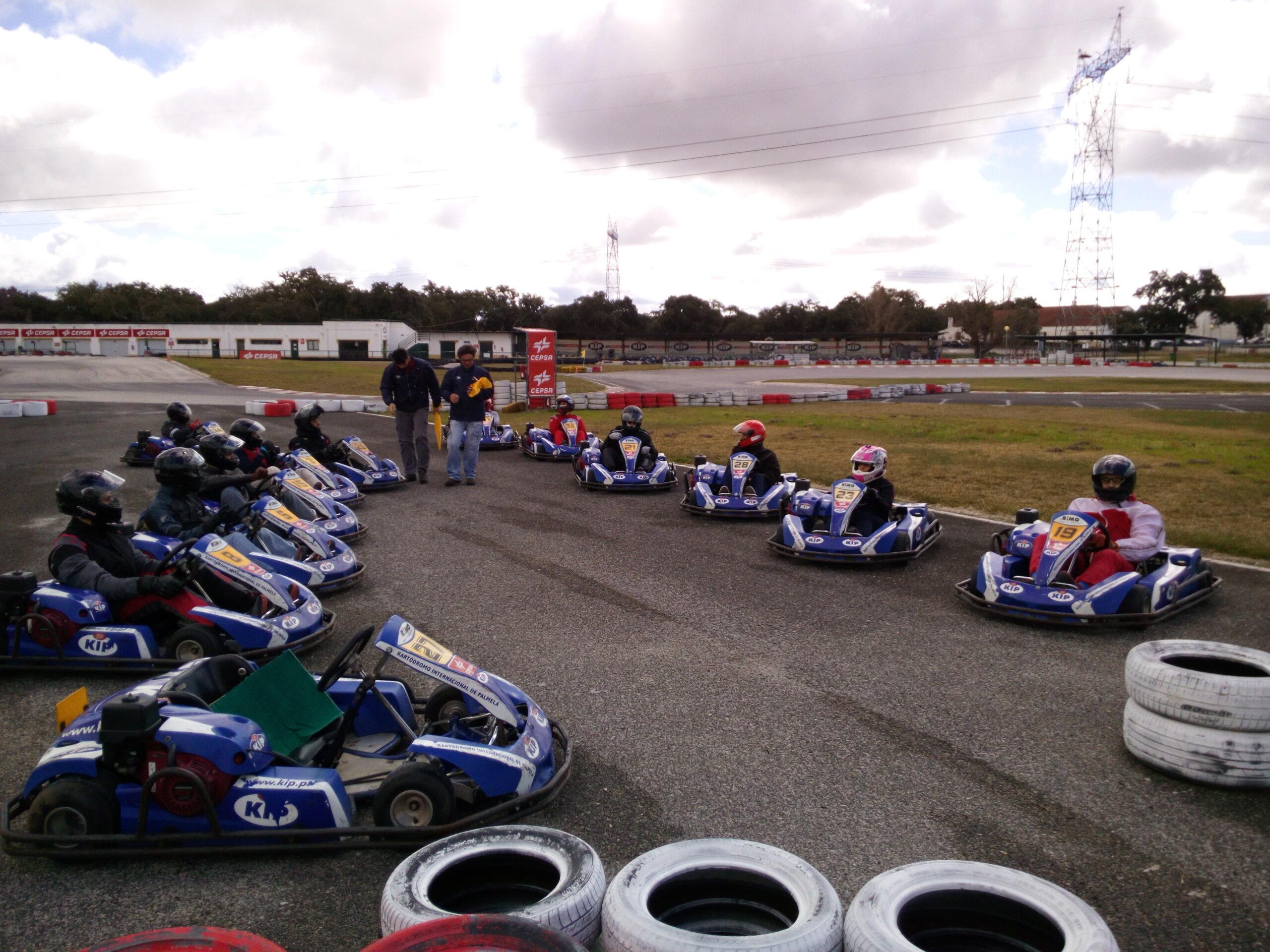 1ª Prova Karting Zona Sul 2017