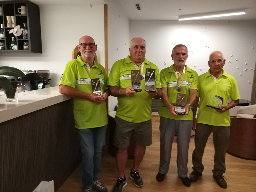 Somos Campeões Nacionais de Pesca de Rio